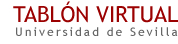 Tablón Virtual de la Universidad de Sevilla